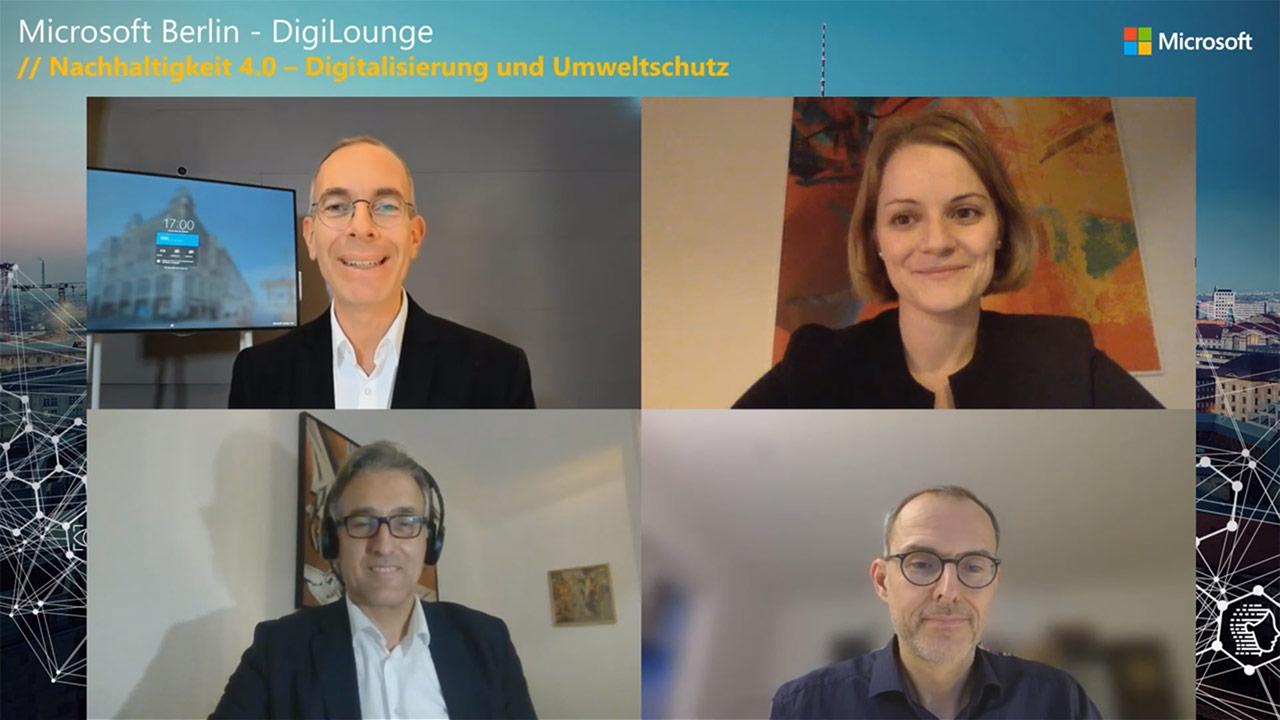 Thumbnail zu DigiLounge // Nachhaltigkeit 4.0 - Digitalisierung und Umweltschutz