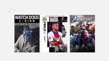 Watchdogs Legion, FIFA 21, Marvels Avengers