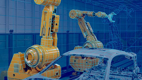 Virtual replicas of machinery.