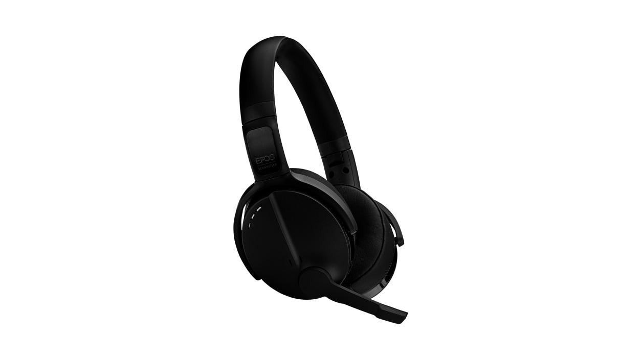 Sennheiser Adapt 560 headset in black facing the right