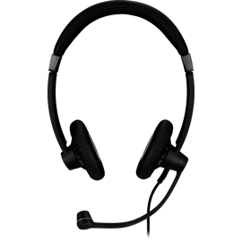 Front view of the Sennheiser SC 75 USB MS Headset