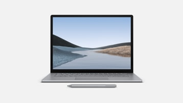 Surface Laptop 3 et Surface Pen