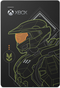 Seagate Halo Master Chief LE Game Drive for Xbox 5TB