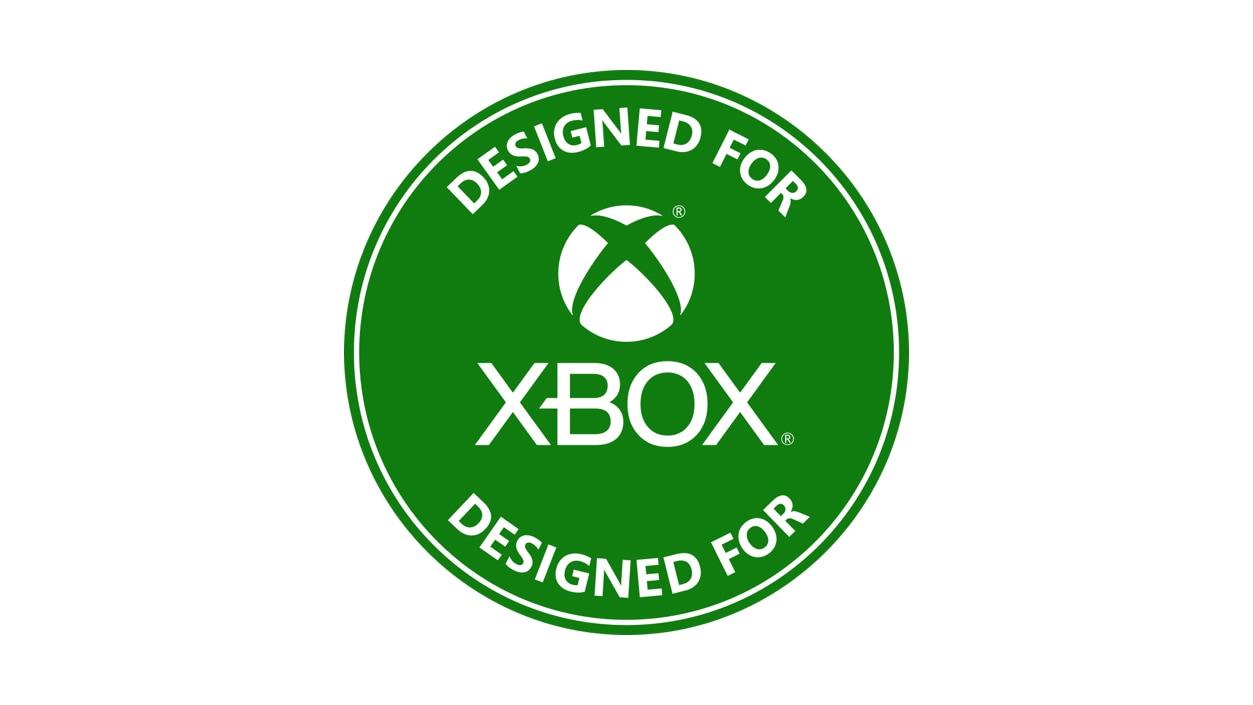 Designed for Xbox badge.