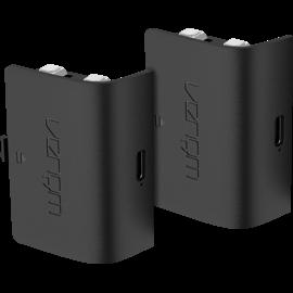 Pack de deux batteries rechargeables Venom en noir