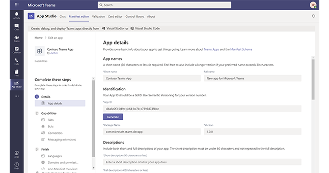 A screenshot of the App Details screen in Microsoft Teams.