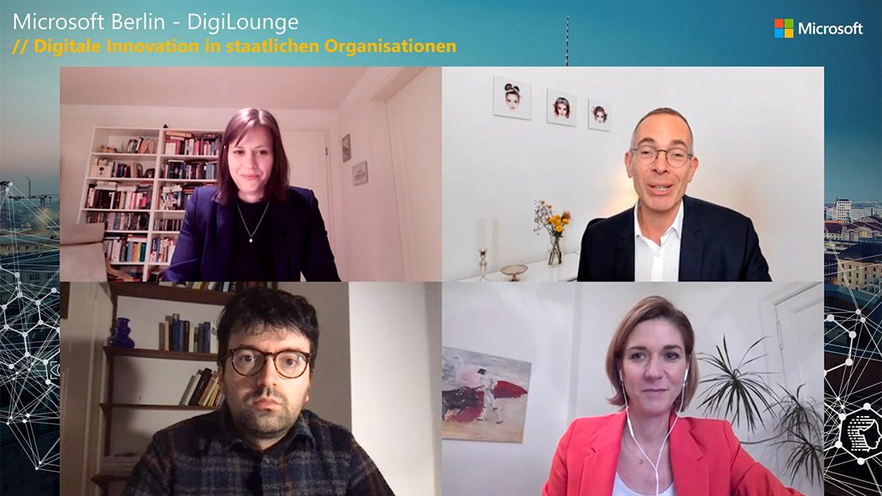 Thumbnail zu DigiLounge // Digitale Innovation in staatlichen Organisationen