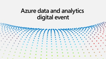 Azure data and analytics digital event
