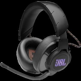Vue de face gauche du casque JBL Quantum 600
