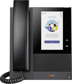Poly CCX 400 Business Phone for Microsoft Teams