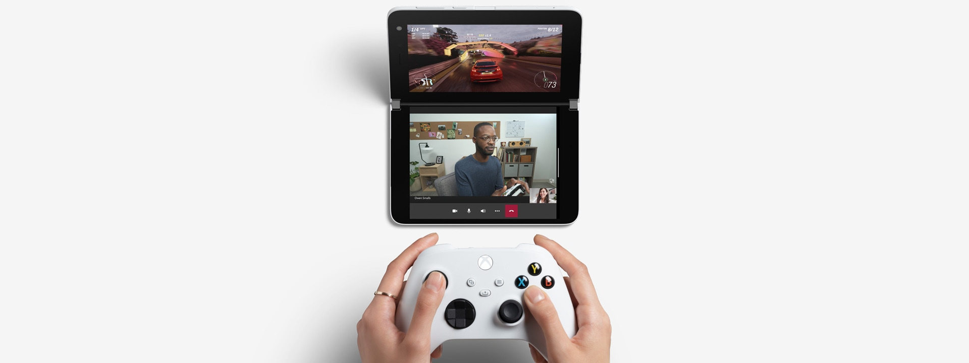Multiplayer gaming on Surface Duo