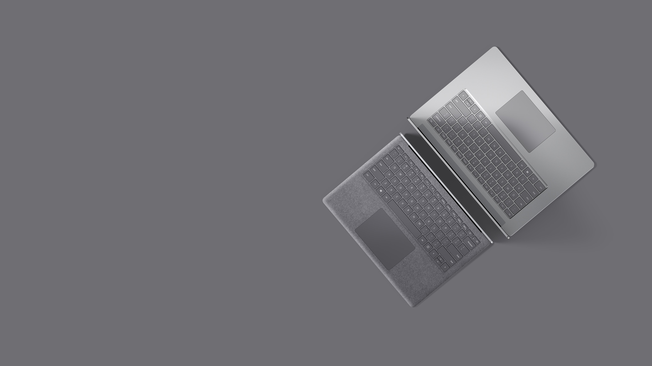 Surface Laptop 4 for Business in Platinum.