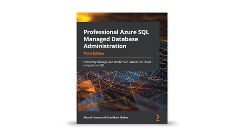 The e-book titled Professional Azure S Q L Managed Database Administration.