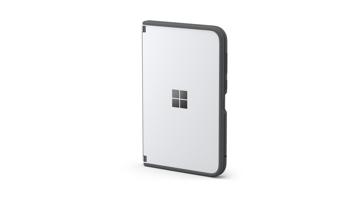 Surface Duo bumper in black.