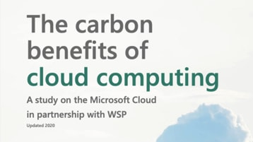 The carbon benefits of cloud computing.