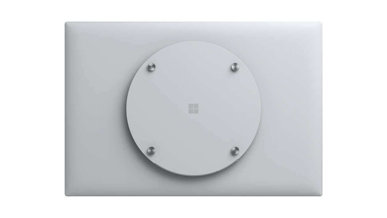 Back view of a Surface HUB 2s 50'' device.