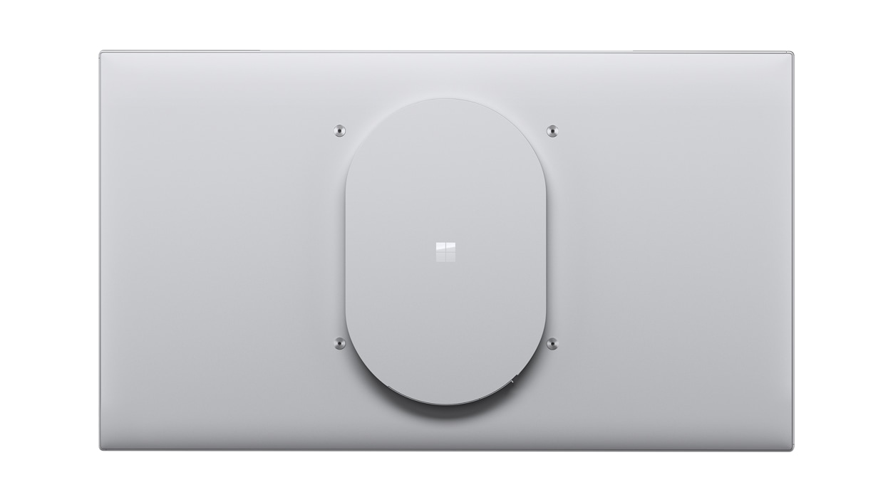 Back view of a Surface HUB 2s 85'' device.