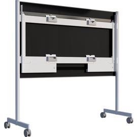 A Surface HUB 2S 85'' Mobile Stand.