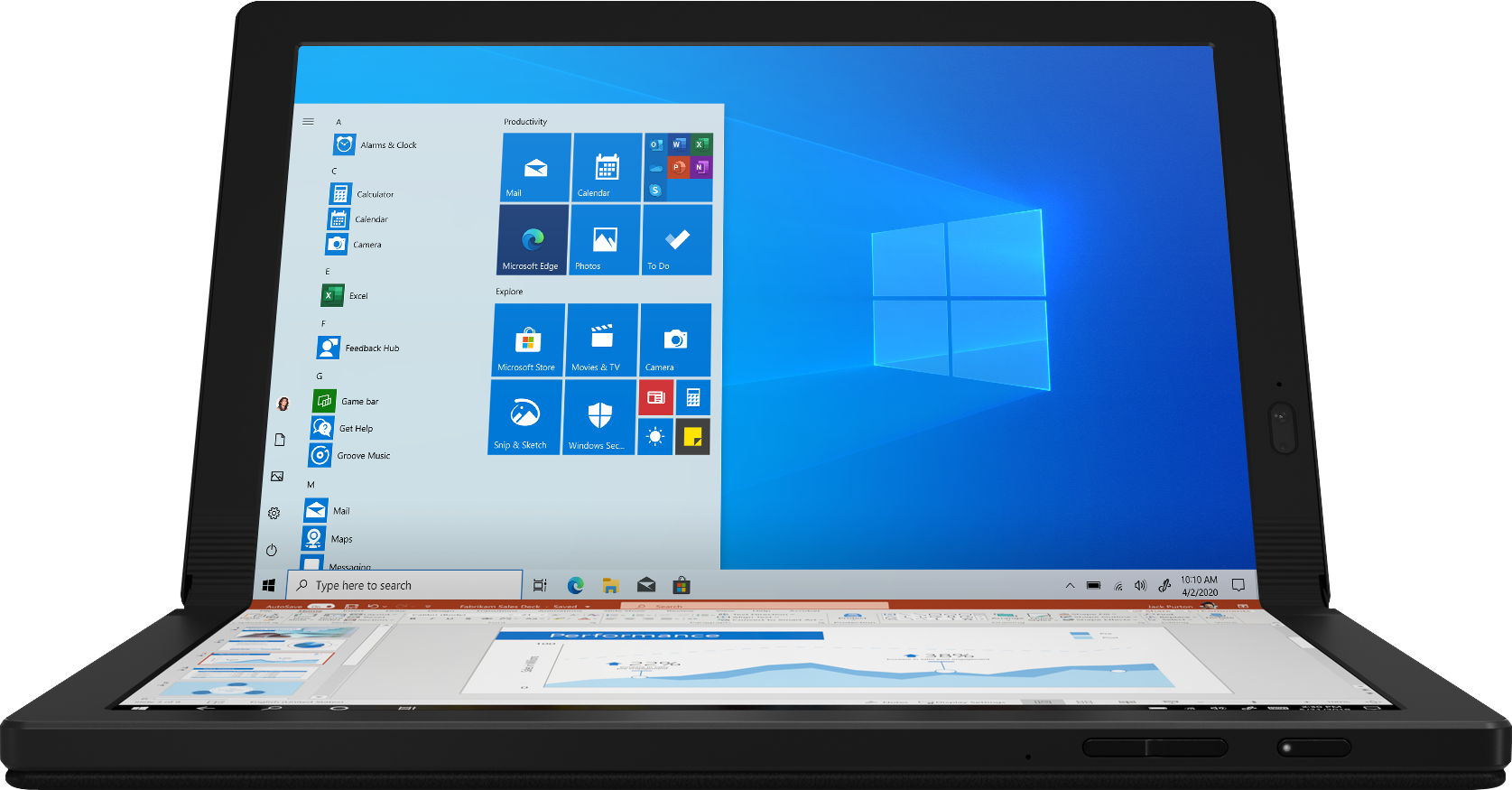 Lenovo ThinkPad X1 Fold 13.3 20RK000NUS Foldable PC