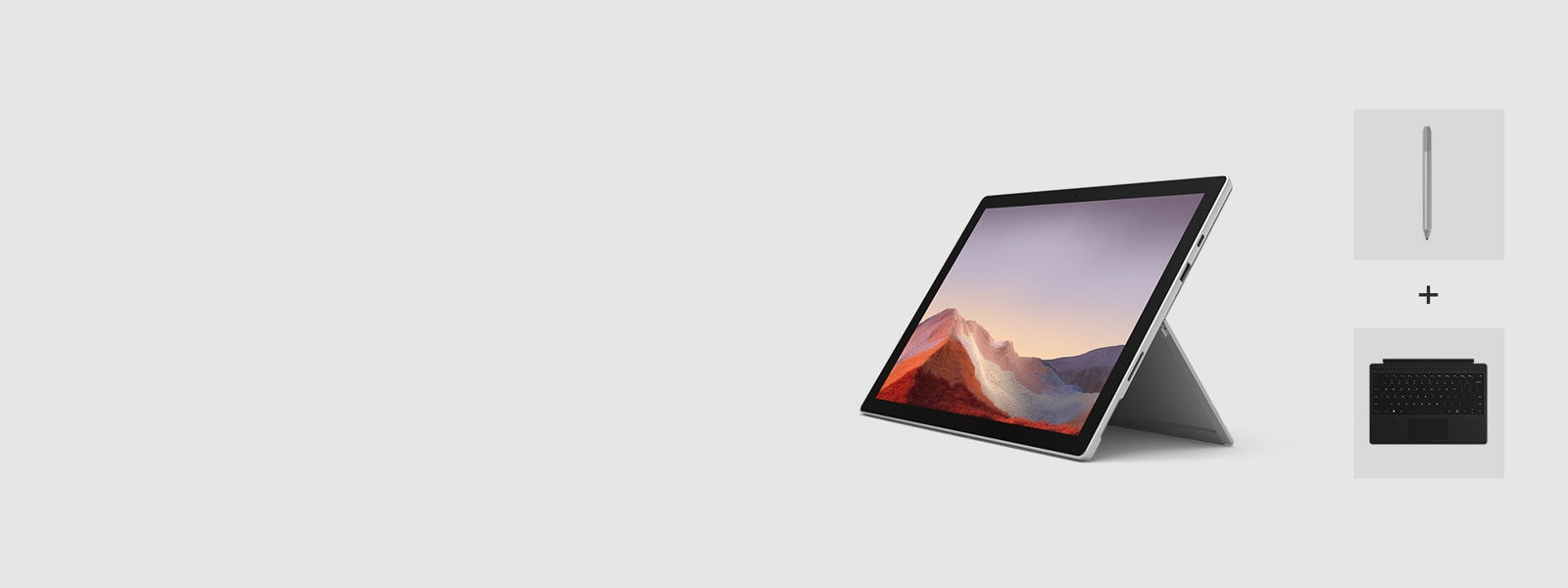 Surface Pro 7 with Intel i5 with Type Cover and Surface Pen