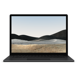 Surface Laptop 4 for Business in Matte Black.