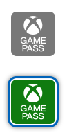 Logos de l'application Xbox Game Pass.