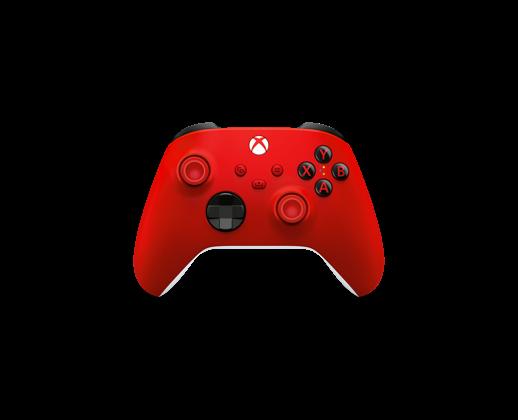 Mando Inalámbrico Xbox: rojo latido