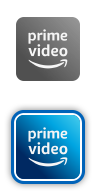 Logos de l'application Amazon Prime Video.