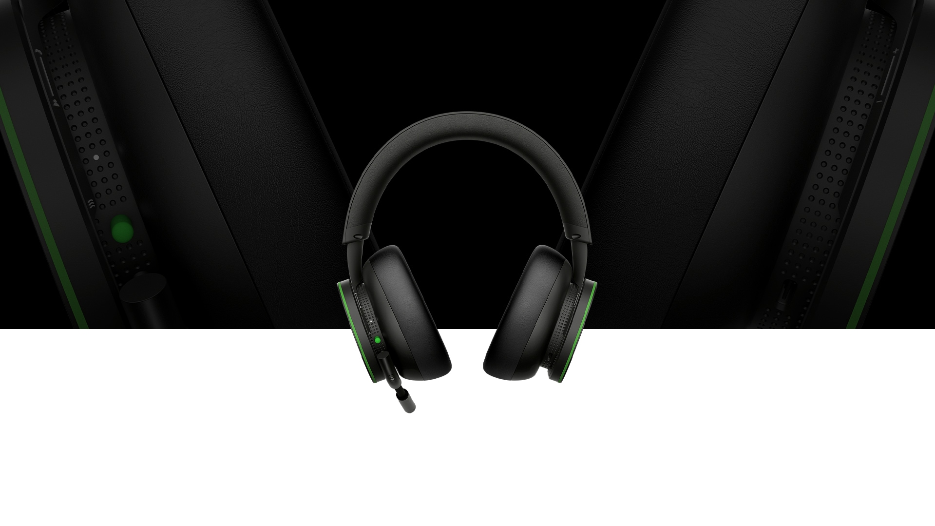 Front of the Xbox Wireless Headset