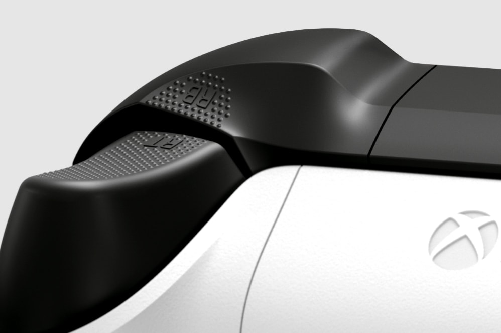 Xbox One Wireless Controller: Nahaufnahme der Tasten