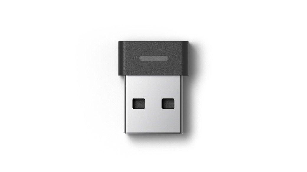 Close-up view of the USB Link