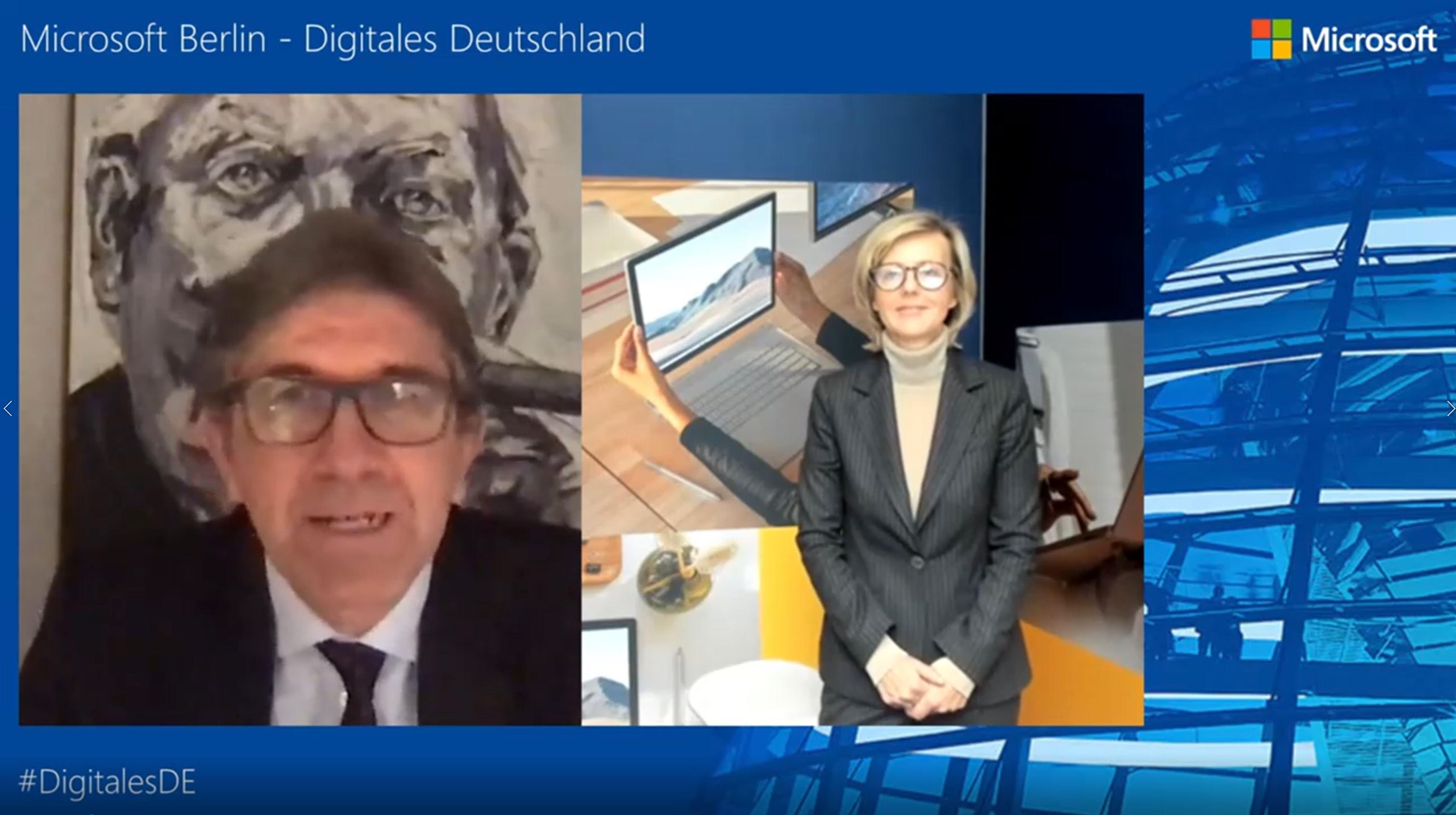Thumbnail zu Digitales Deutschland mit Dr. Marianne Janik