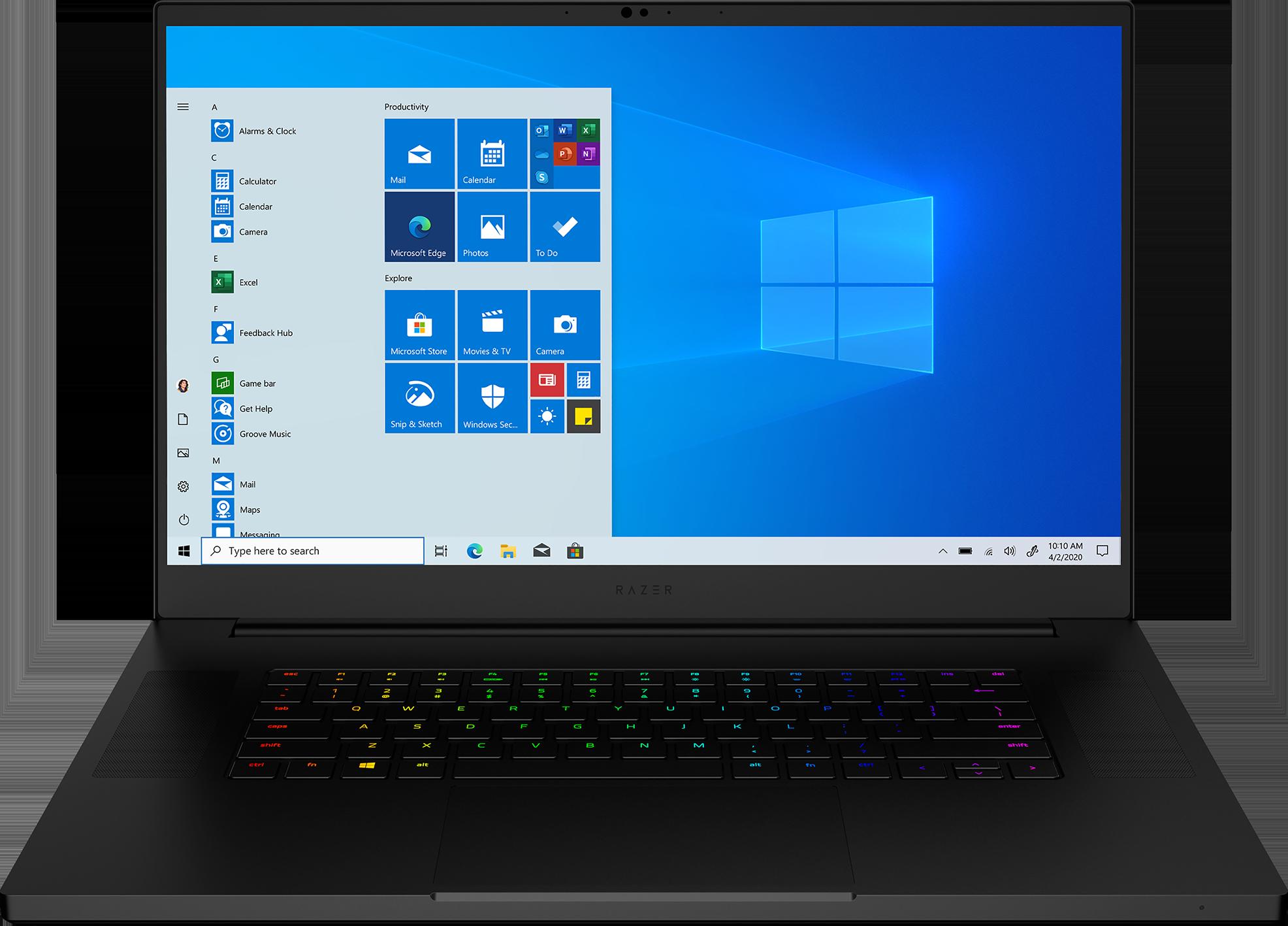 Razer Blade Pro 17.3 Laptop 17.3-inch QHD display Intel Core i7-10875H 16 GB memory/512 GB SSD NVIDIA GeForce RTX 3070