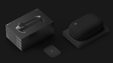 Confezione di HoloLens 2.