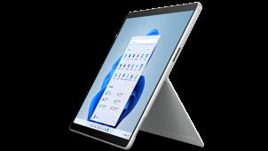 Surface Pro X - Platinum, Microsoft SQ® 2 - LTE, 16GB RAM, 256GB SSD