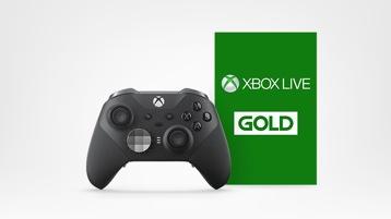 Akce na Xbox Live Gold + Xbox Elite 2