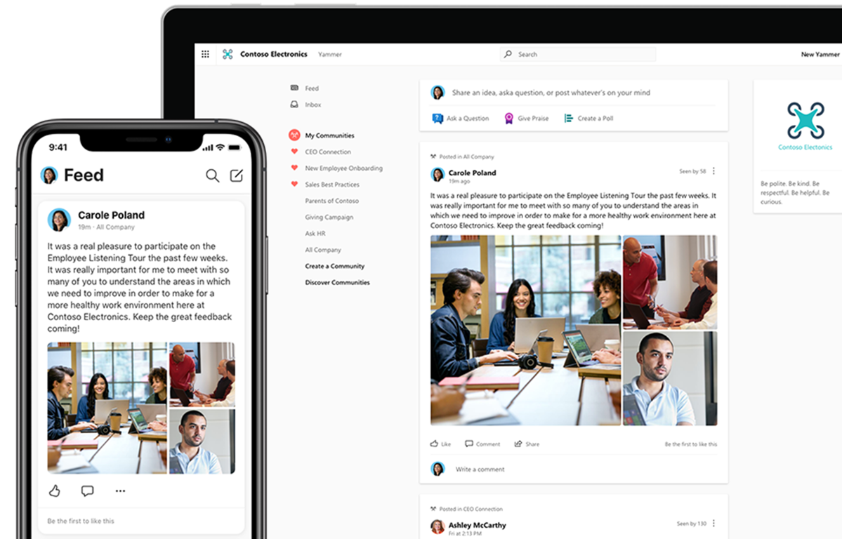 Yammer Enterprise Social Network | Microsoft Office 365