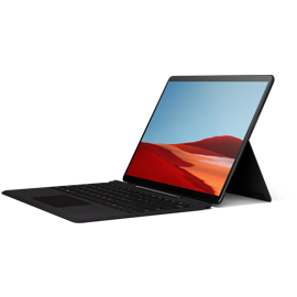 Angled view of Surface Pro X