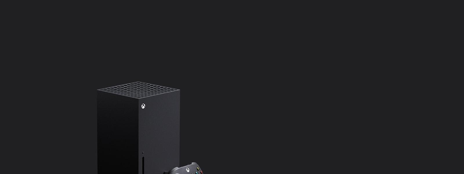 Konzole Xbox Series X a ovladač pro Xbox