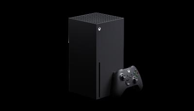 Consola Xbox Series X con mando inalámbrico Xbox negro carbón