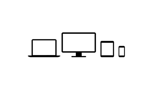 Icon representing a family of devices.