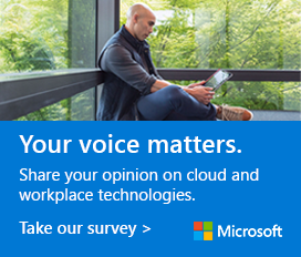 Share your opinion on cloud and workplace technologies