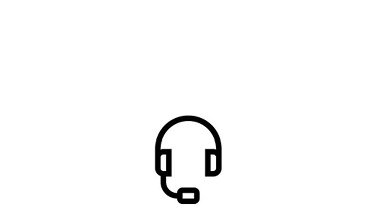 Customer support headset