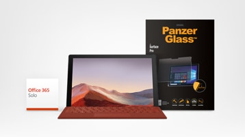 Surface Pro 7 and PanzerGlass Screen Protector