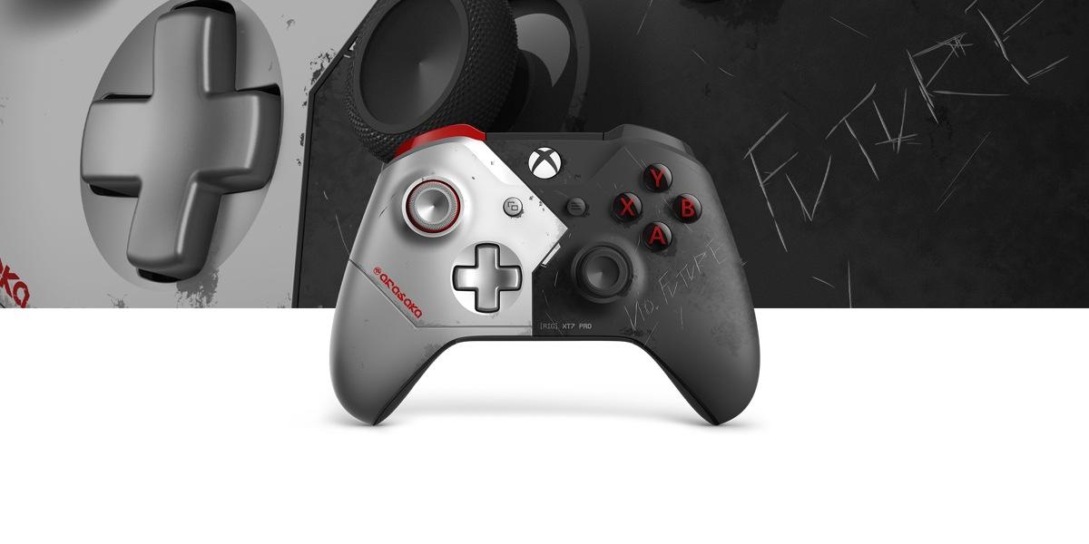 Kontroler bezprzewodowy Xbox — Cyberpunk 2077 Limited Edition