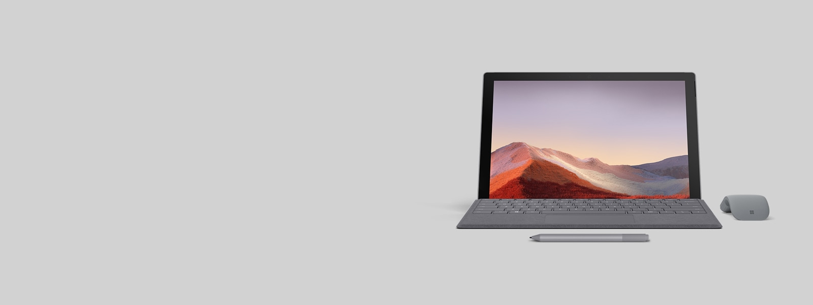 Surface Pro 7 met Type Cover en Microsoft 365