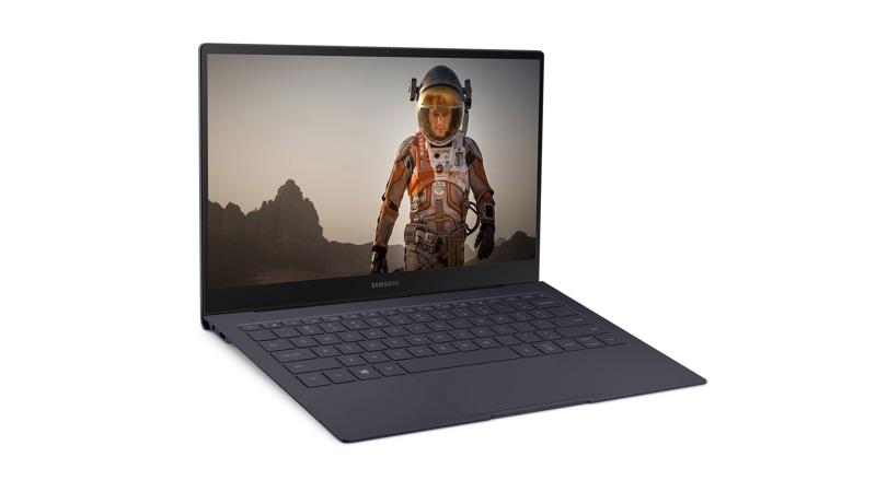 Samsung Book S - Verizon Laptop right angle view