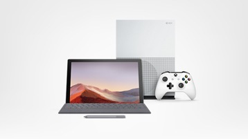 Surface Pro 7 und Xbox One S