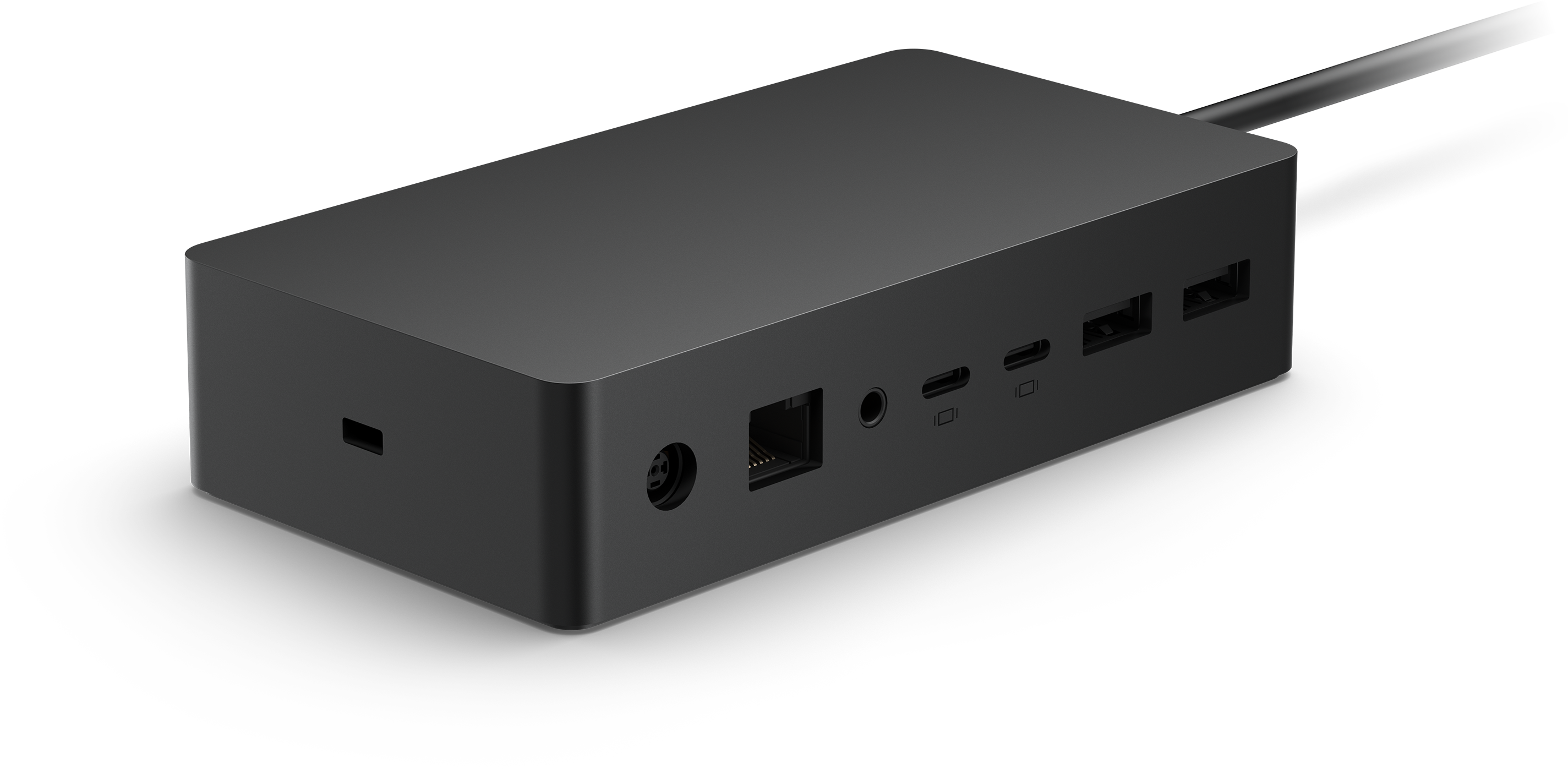 Surface Dock 2 for Business Bring more power to your workstation. Surface Dock 2 transforms your Surface into a desktop PC, with a 199 W power supply to charge most Surface devices, plus USB-C®¹ ports that support dual 4K monitors at 60 Hz. Simply plug in the Surface Connect cable to charge your device and access external monitors, a keyboard, mouse, and more.