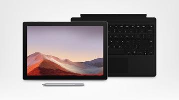 Surface Pro 7 e acessórios